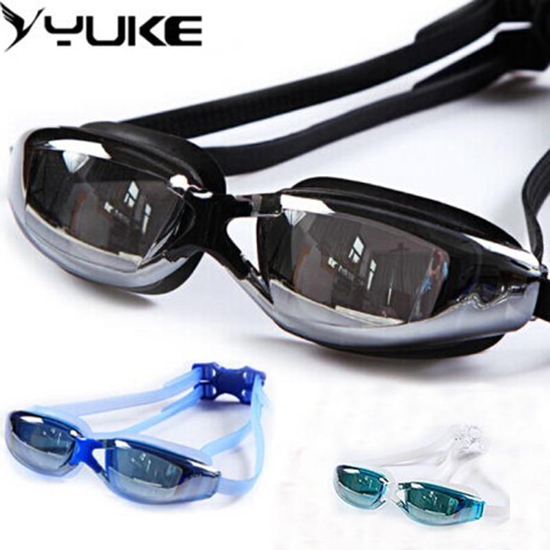 Unisex de vară Femei Bărbați Îmbrăcăminte de apă anti-ceață UV Protecție Protecția ochelarilor Ochelari de protecție Ochelari de înot în ES