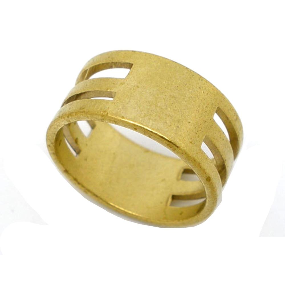 Doreenbeads 1 peça anel de salto cobre abertura fechamento dedo cor ouro diy jóias ferramenta acessórios 19x8.5mm descobertas (b04535s)