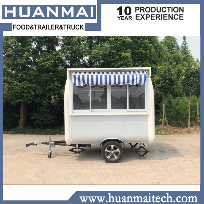 US $3200 0  Mobile Catering Food Trailer Food Truck Food Cart Sales Trailer  2300x1850x2300mm-in Trailer from Automobiles & Motorcycles on