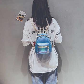 Women Mini Backpack Fashion Leather Backpacks for Teenagers Girl Small Female School Backpack Cute Shoulder Bag Bagpack Mochila - DISCOUNT ITEM  47% OFF All Category