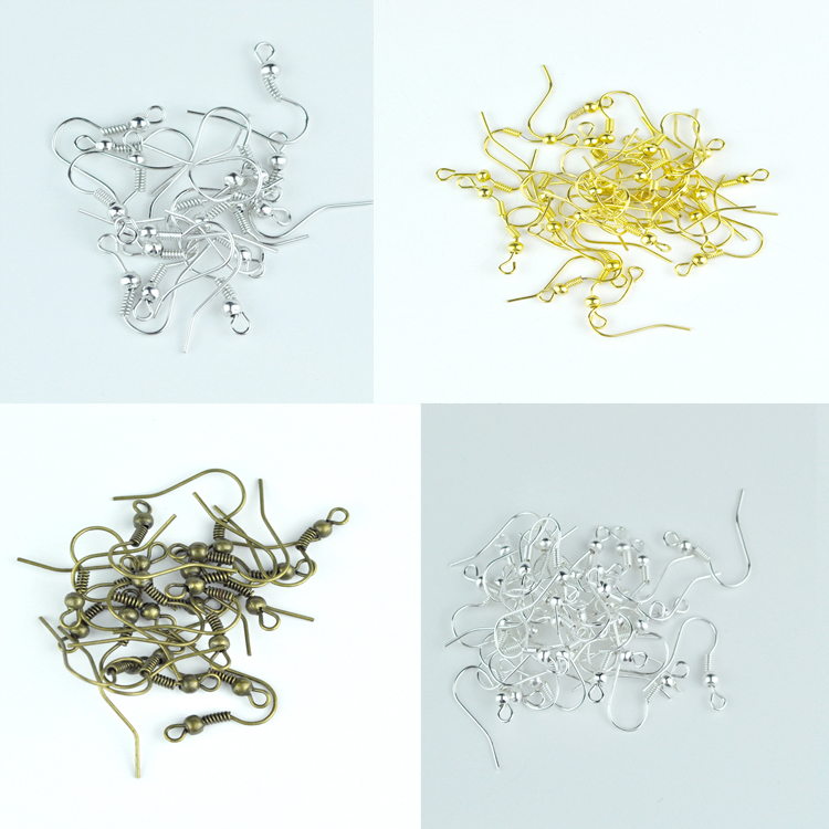 300pcs/lot Metal Earring Hooks 16x18mm Ear Hooks For Jewelry Earrings Findings And Components Diy Accessories