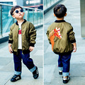 Kamimi 2017 Autumn Winter Baby Cartoon Horse Coat Fashion Coats for 0-4 Toddler Baby Boys Girls Warm Coat Children Colthes A817