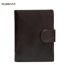 MARRANT Oil Waxing Genuine Leather font b Wallet b font font b Men b font font