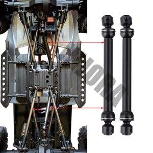 Image 5 - 2 قطعة 112 152 مللي متر المعادن الصلب العالمي محرك CVD رمح ل RC الزاحف سيارة SCX10 90046 D90 RC السيارات جزء اكسسوارات