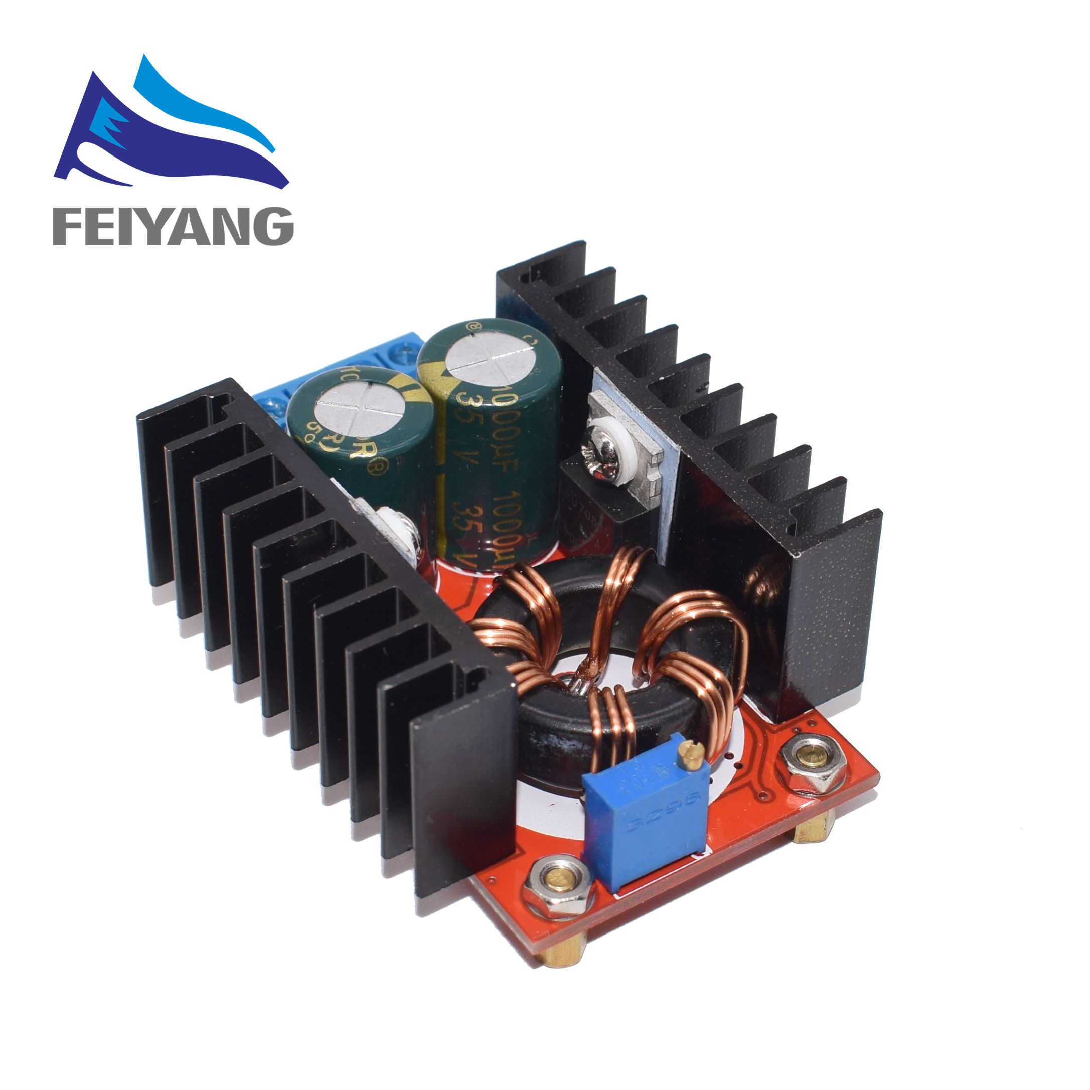 1pcs <font><b>150W</b></font> Boost Converter <font><b>DC</b></font>-<font><b>DC</b></font> 10-32V to 12-35V <font><b>Step</b></font> <font><b>Up</b></font> Voltage Charger Module image