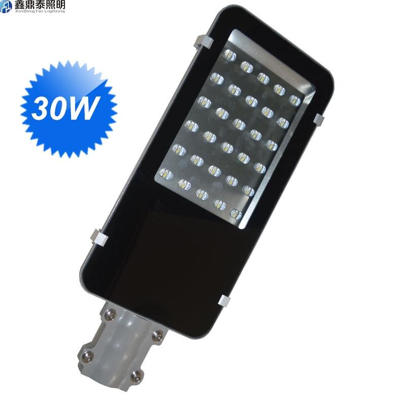 цена на 30W led street light 12V 24V AC85-265V 30W led driver inside lamp die-casting aluminum led street light
