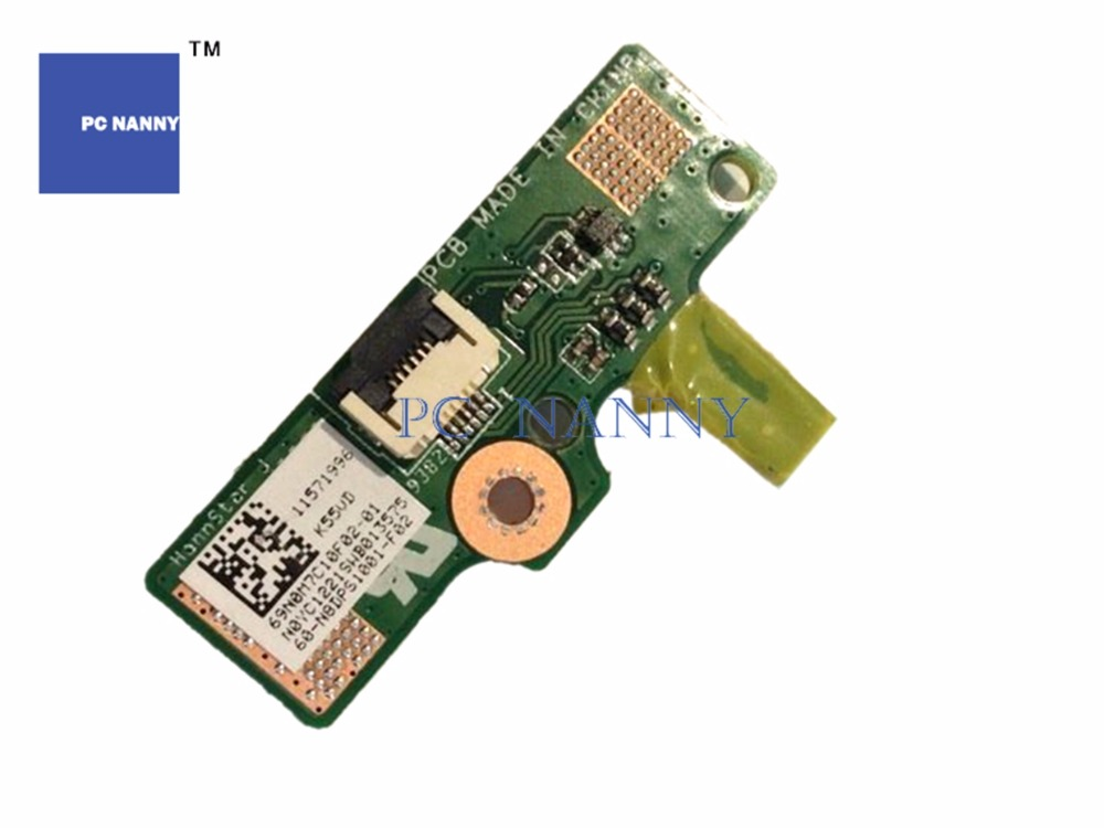 Pc Nanny For Dell Inspiron 1564 1464 Power Switch Button Board & Cable Da0um3pb8 Works Computer & Office