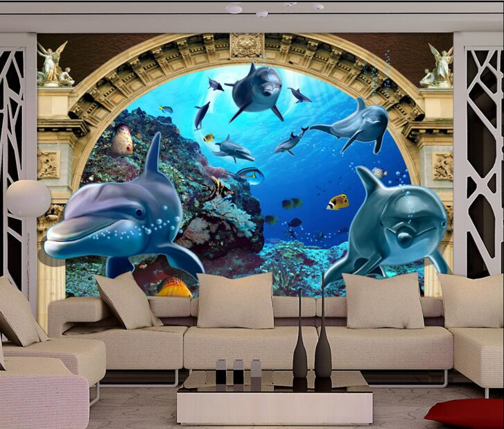 Compare prices on door mural wallpaper online shopping for Custom mural cost