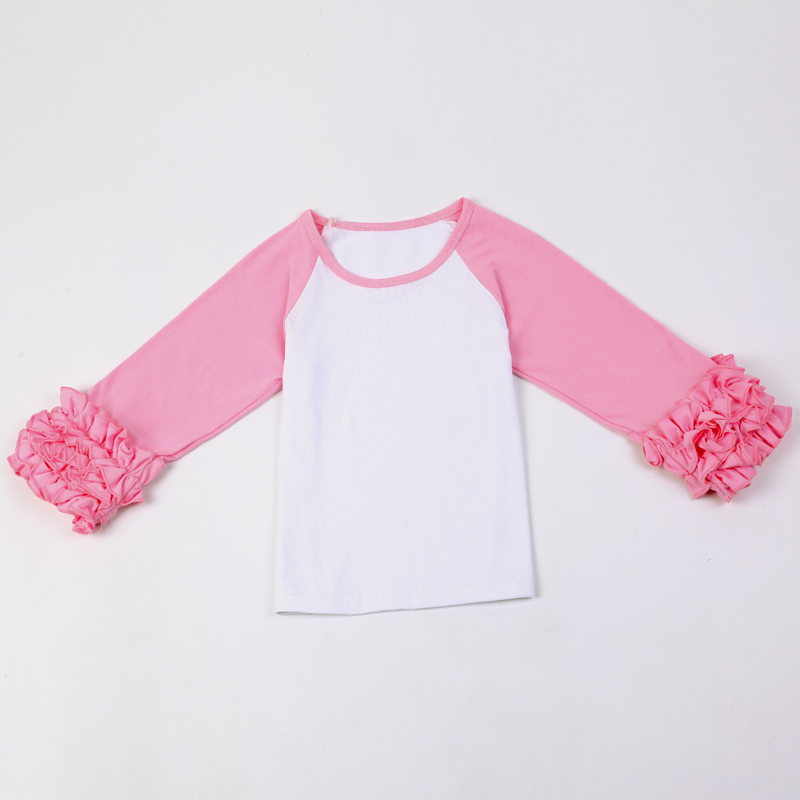 Girls-Monogram-Ruffle-Sleeve-Raglan-Shirts-Multiple-Colors-Monogramable-raglans-Toddler-girls-icing-shirts-Christmas-icing-tops-2