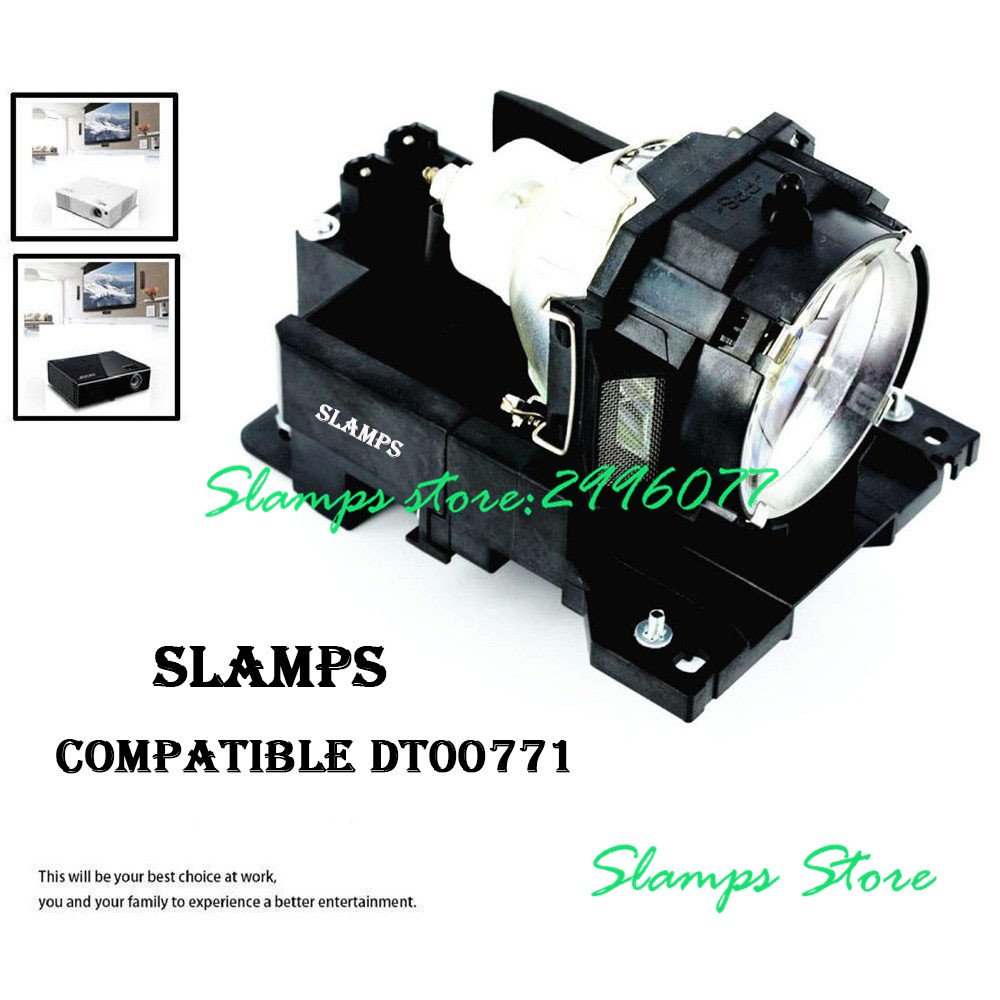 DT00771 Replacement Projector Lamp Bulb With Housing For HITACHI CP-X505 /CP-X600/ CP-X605/ CP-X608 Projectors -180days Warranty