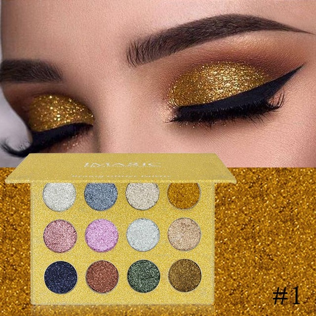 Colore Parete Glitter : Imagic colors glitter eyeshadow palette