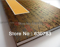 Free Ship Chinese Rice Paper Seal Painting Calligraphy Handmade Rice Paper Hard Cover Book Collection Album Three layer 45*32cm