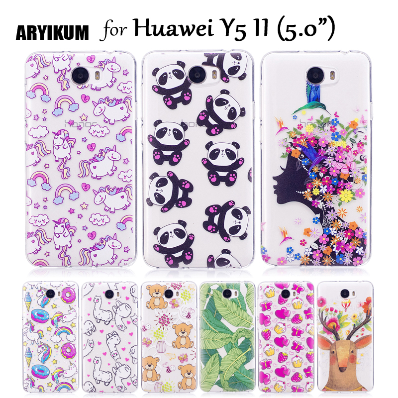 ARYIKUM Phone Case For Etui Huawei Y5 II Y5II Y5 2 Lte CUN L21 ...