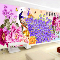 DIY 5D Sale Diamond Embroidery, Diamond Mosaic, Special Shaped, Full, Peony, Peacock, Diamond Painting, Cross Stitch,3D, Decorat