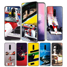 Ayrton Senna Soft Black Silicone Case Cover for OnePlus 6 6T 7 Pro 5G Ultra-thin TPU Phone Back Protective