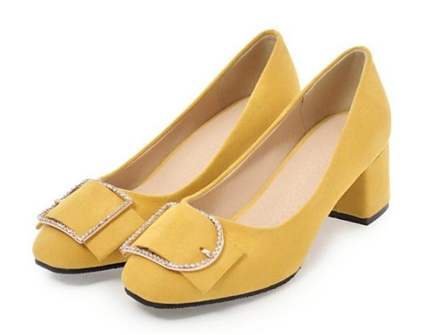 Filles Chaussure De Mujer Chunky Feminino Pompes yellow Mariage pink Femmes Chaussures Talons Dames P161668 Femelle black Sapato Beige Hauts Zapatos Femme 1tdnfBqw