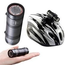 Спорт DV водонепроницаемый Full HD 1080 P Малый действий шлем Камера мини F9 DVR Спорт Cam CMOS Экстрим видеокамера Алюминиевый