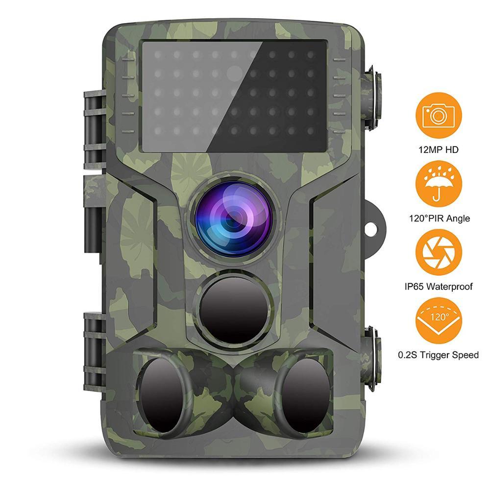 Chasse Trail caméra étanche Vision nocturne caméra sauvage caméra forêt Animal Photo pièges Scout chasse caméra HC 800A