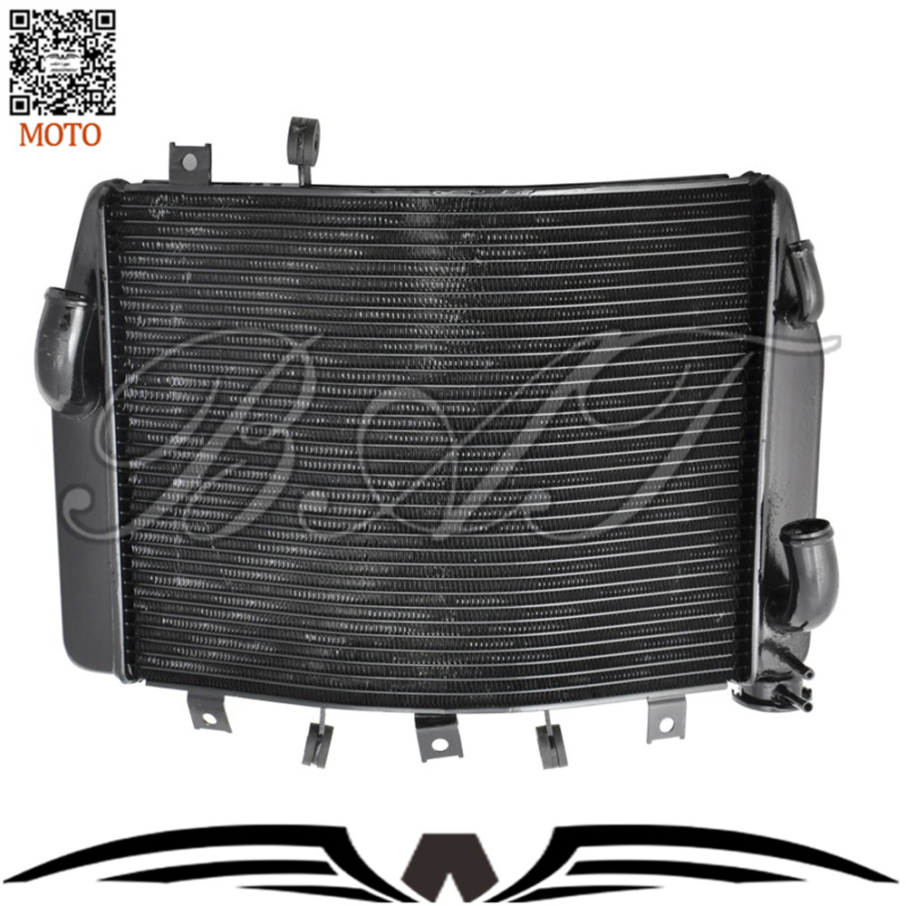 Motorcycle Aluminium Cooling Cooler Radiators For Kawasaki NINJA ZX1400 2005 2006 2007 2008 2009 2010 Motorbike Radiator aftermarket free shipping motorcycle parts eliminator tidy tail for 2006 2007 2008 fz6 fazer 2007 2008b lack