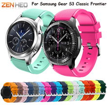 New arrival Watch band for Samsung Gear S3 strap wrist colorful active silicone with closure modern design replacement 22mm