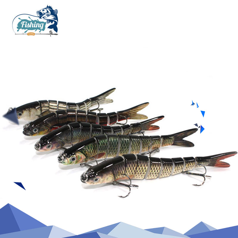 1 PC Fishing Lure Swimbait 14cm 27g hard Lure Crankbait Multi Jointed Sinking Swimbait Hard Artificial bait Lures Fishing Tackle afishlure hard lures baits popper 118mm 18g artificial fishing tackle swimbait hard lure for carp fishing trout plastic fishing