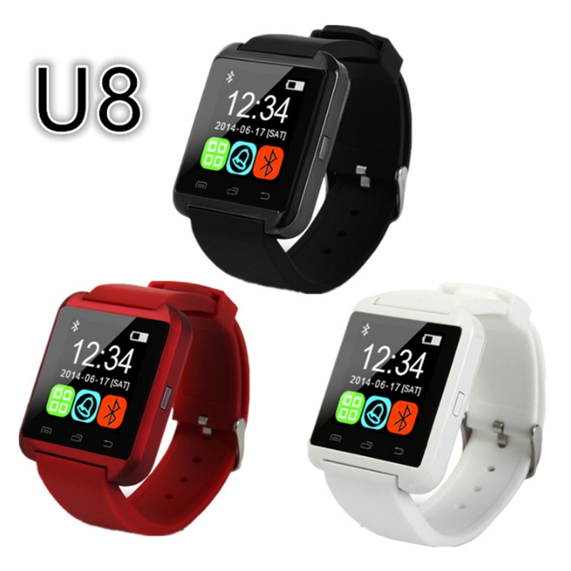 2016 Factory Wholesale Cheap Bluetooth Smart Watch Android u8 Digital Sport font b Smartwatches b font