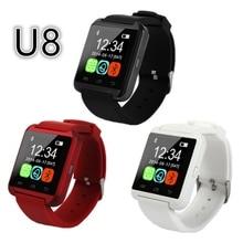 2016 fabrik Großhandel Billig Bluetooth Smart Uhr Android u8 Digitale Sport Smartwatches mit Schrittzähler Call Reminder u8