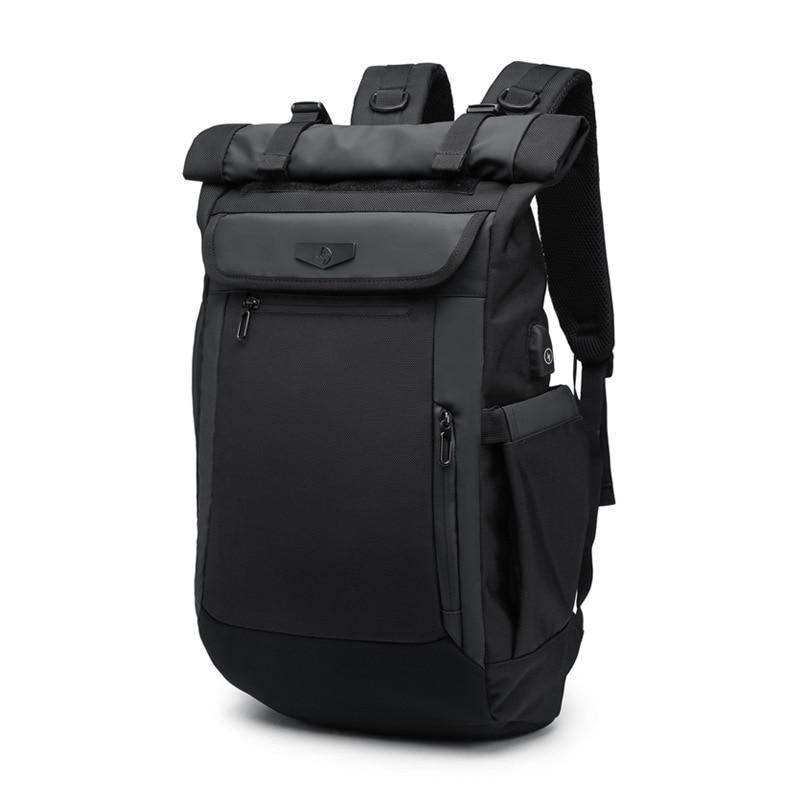 17 pouces sac à dos pour ordinateur portable USB charge Anti-vol sac à dos hommes étanche voyage sac à dos hydrofuge sacs d'école mâle Mochila