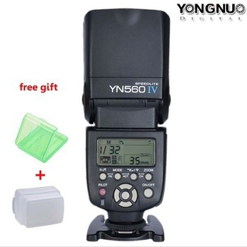 Yongnuo YN-560 IV Flash Speedlite for Canon EOS 5D,7D,60D,50D,40D,30D,600D,550D,500D,450D, 400D,350D,300D,650D,5D MARK I,II,III meike dslr camera built in 2 4g battery grip for canon eos 7d mark ii as bg e16