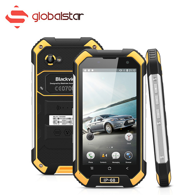 Blackview BV6000 Android 6.0 MT6755 4G Smartphone 3G RAM 32G ROM Octa Core Mobile Phone Dual SIM Waterproof 4.7 inch Cell Phone