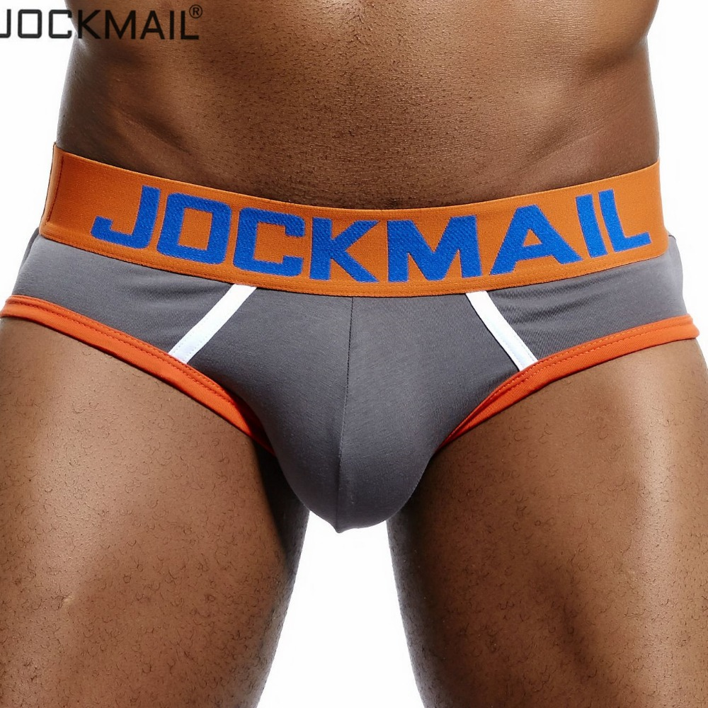 JOCKMAIL New Cotton Sexy Men Underwear  Modal Mens Underpants Male Panties Shorts U Convex Gay Underwear Slips Men's Briefs