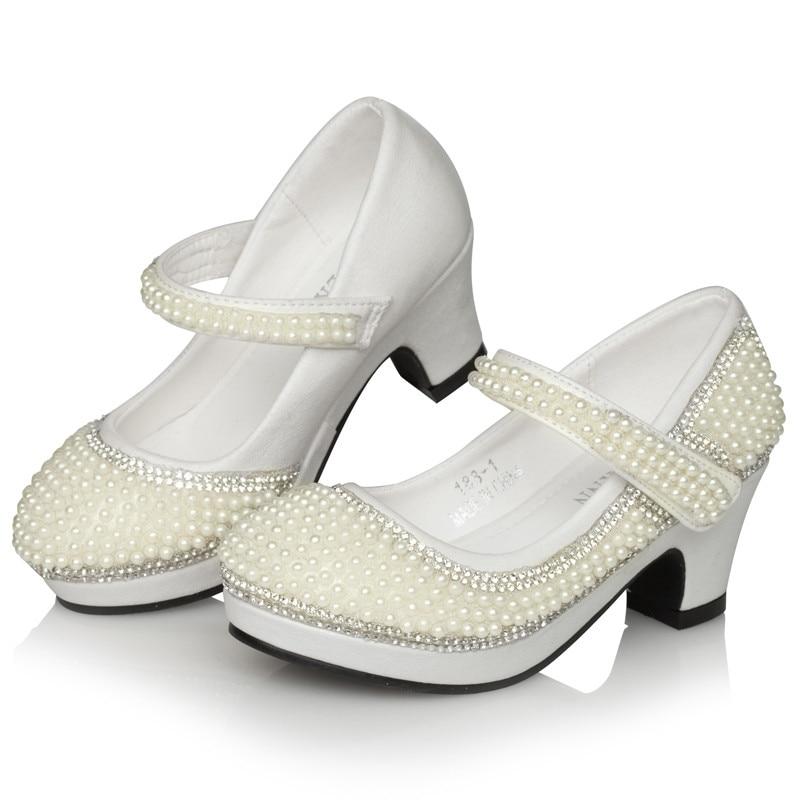 ٩(^‿^)۶Chicas ٩(^‿^)۶Chicas ٩(^‿^)۶Chicas perla zapatos de cuero tacones altos zapatos de boda 80b35d