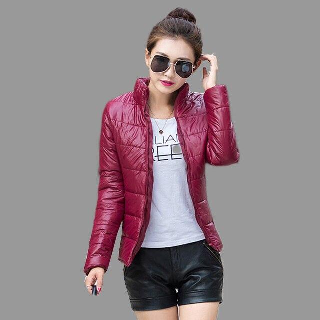 2017 NEW Women Coat Fashion Autumn Spring Women Jacket Female Parkas Cotton Casual Basic Jackets Coats Wadded plus size S-XXXL