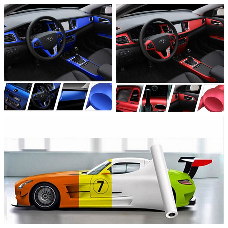 Car Body Stickers Decal 50100cm Matte Vinyl Wrap Sheet Roll Film Protector Paper