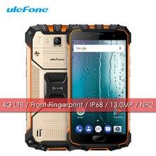 Ulefone Rüstung 2 S 4G LTE Wasserdicht Stoßfest Handy Android 7.0 2 GB + 16 GB IP68 Smartphone 5 Zoll 4700 mAh Schnellladung Fingerabdruck