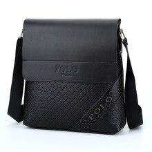 2017 Fashion Business Leather Men s Messenger Bags Designer Handbags High Quality Crossbody Vintage Shoulder Man