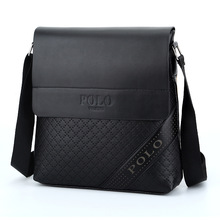 2017 Fashion Business Leather Men's Messenger Bags Designer Handbags High Quality Crossbody Vintage Shoulder Man Bag