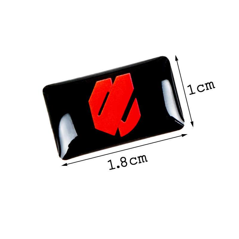 8 pièces voiture style volant 3D petit emblème autocollant roue autocollant adapté pour Toyota 86 harrier vellfire Alphard voiture autocollant