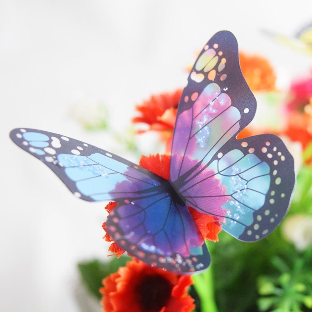 18 Teile/los 3d Schmetterling Wandaufkleber Schmetterlinge Dekore Für Privatanwender Fridage Wand Zimmer Dekoration Home Decoration Aufkleber
