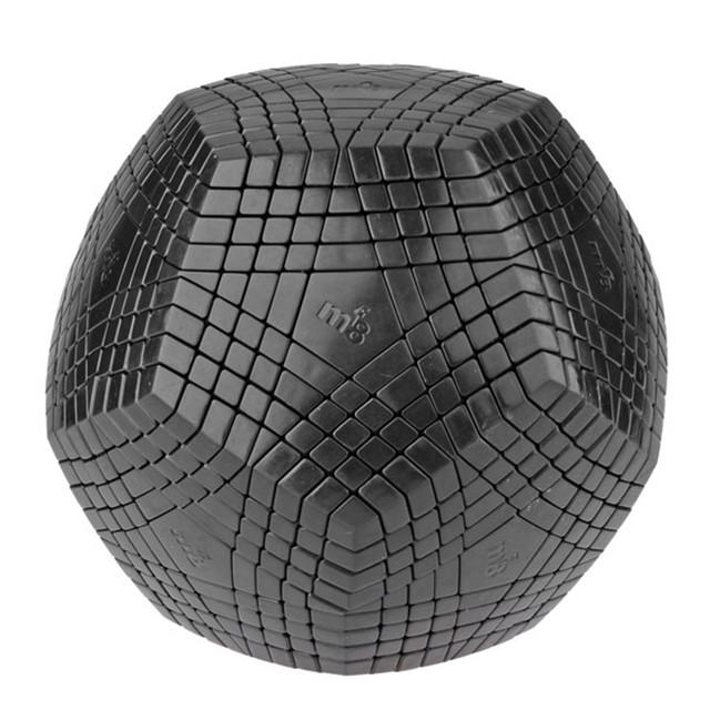 A Estrenar Negro 9x9 MF8 Petaminx Cubo Mágico Speed Puzzle Cubos Juguetes Educativos Para Niños de Los Niños