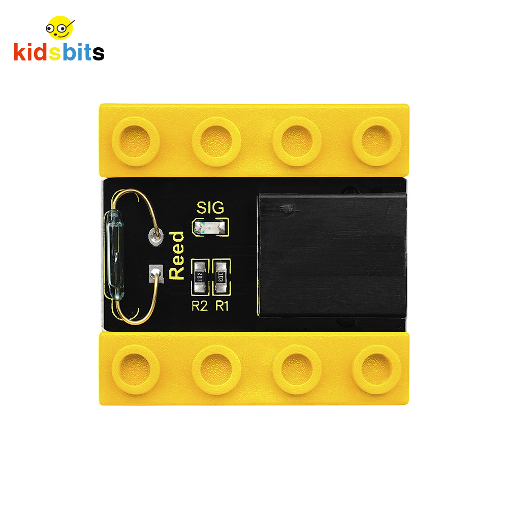 Kidsbits Blocks Coding Reed Sensor For Arduino STEM