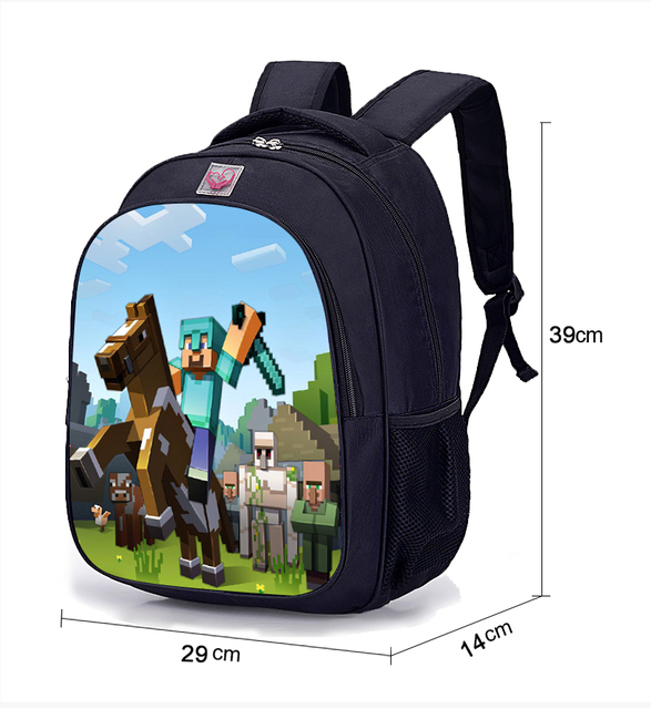 Bags Sale Hot MineCraft Game 2018 Cartoon School Student Backpack YUqZWT
