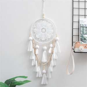 Dream Catcher Bedroom Decoration Hanging Wind-Chimes Handmade Atrapasueos Craft Gift