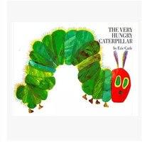 무료 배송 교육 어린이 영어 책 아기와 작은 아이들을위한 매우 배고픈 애벌레 에릭 carle