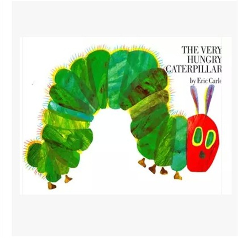 Free Shipping Educational Children English Book For Baby And Small Children THE VERY HUNGRY CATERPILLAR Eric Carle