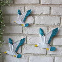 3pcs/lot Mediterranean style Flying Bird Resin Craft  Home & Restaurant Decor Shop Window Show Craft Art Craft Home & Shop decor|decorating style|decor shops|decorative decorative -