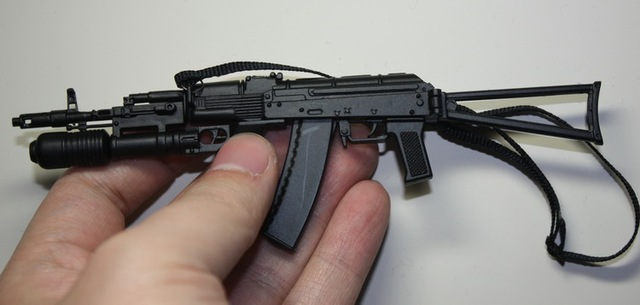 US $19 51 |Brand New 1/6 Scale Weapon Model Toys AK74 Assault Rifle With  GP25 Grenade Launcher PVC Gun Model For 12'' Action Model Toy-in Action &  Toy