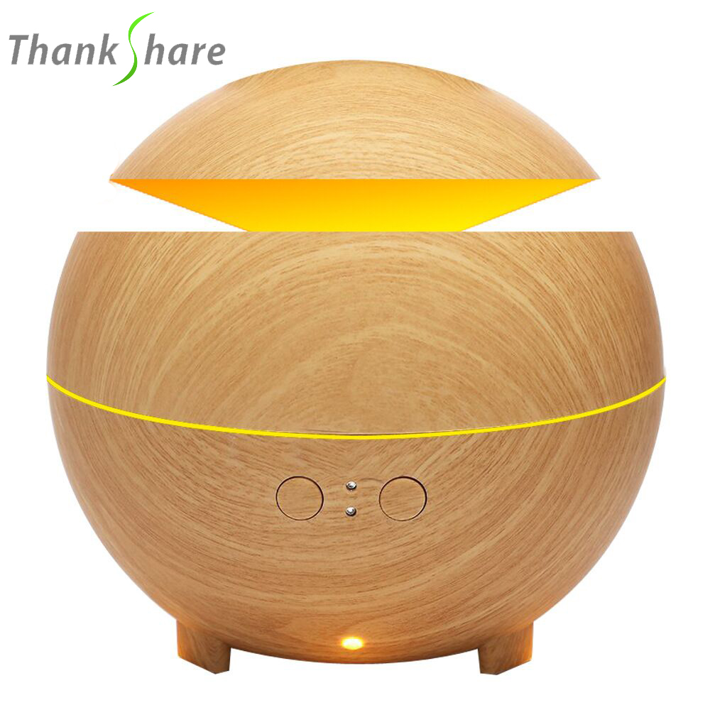 600ml Ultrasonic Air Humidifier Essential Oil Diffuser Humidificador Mist Maker LED Light Aroma Diffusor Aromatherapy for Home 1 5l ultrasonic air humidifier for home essential oil diffuser humidificador mist maker 7color led aroma diffusor aromatherapy