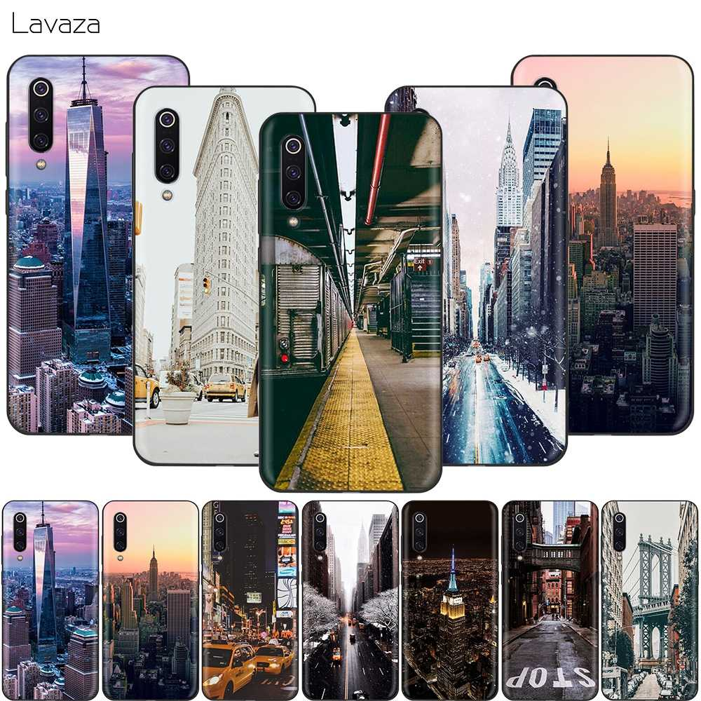 Lavaza New York City Case for Xiaomi Redmi Note 8 8A 7 6 6A 5 5A 4 4X 4A Go Pro Plus Prime