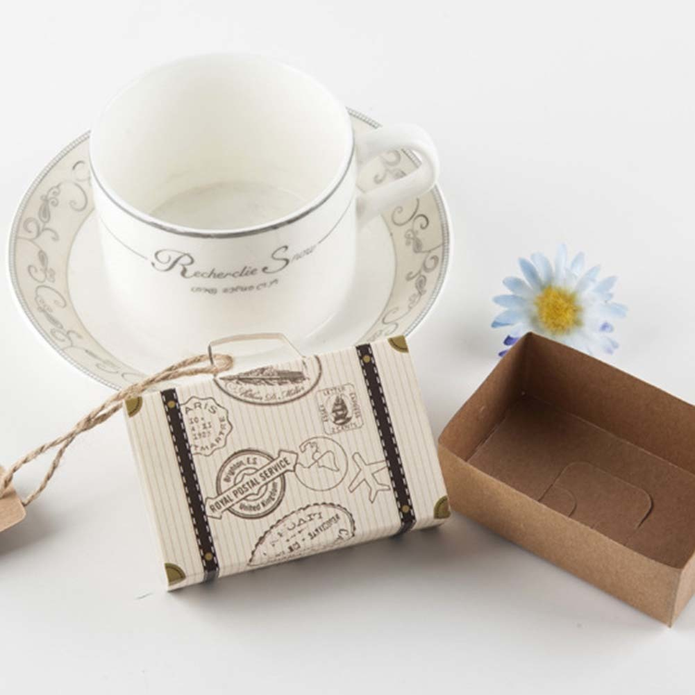 Suitcase Candy Box Baby Shown Favors Wedding Party Supplies Carton ...